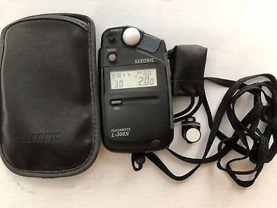 Sekonic L-308S Flashmate Incident and Reflected Light Exposure Meter