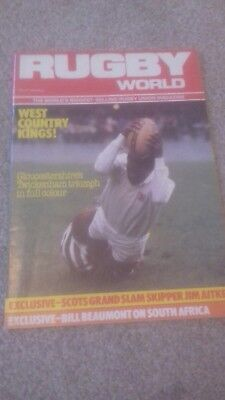 Rugby World Magazine May 1984