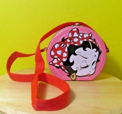1999 The Hearst Corporation Betty Boop small Lunch Box - Tin - Purse