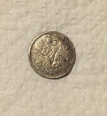 Österreich RDR Ungarn 1 Poltura Maria Theresia 1753 PH-HA   Silber