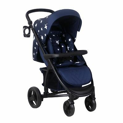My Babiie Catwalk Collection By Abbey Clancy MB200 Pushchair Stroller Navy Stars