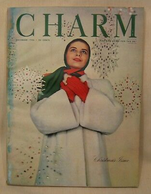 CHARM Dec. 1946, Magazine for the Business Girl, Christmas Issue
