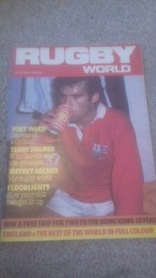 Rugby World Magazine November 1984