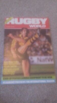 Rugby World Magazine October 1984