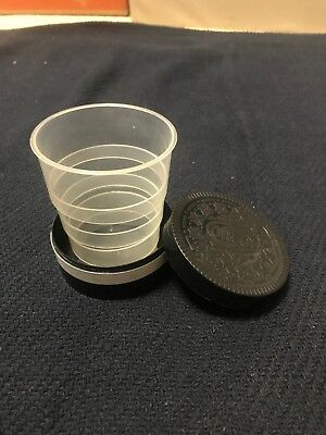 Nabisco Oreo Cookie Collapsible Travel Drink Cup