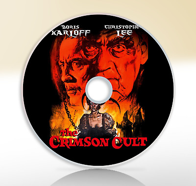 Curse Of The Crimson Altar (1968) DVD Horror Classic Film Movie The Crimson Cult