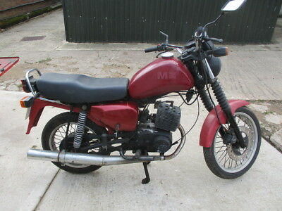 Mz Etz 125 Cc Motorcycle,  Auto Oiling Of Fuel, Disc Brake, Indicators, 12 Volts