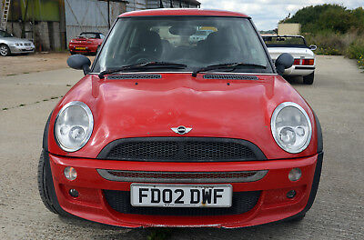 Mini One 2002 Cooper S Factory Fiited Body Kit Red With Union Jack