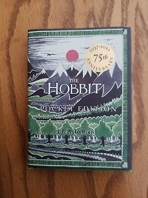 The Hobbit..There and Back Again by J. R. R. Tolkien 75th Aniv pocket edition