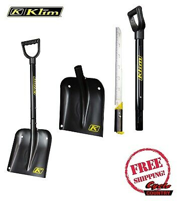 Klim Back Country Avalanche Snow Shovel & Saw Snowmobile Ski Board New 5065