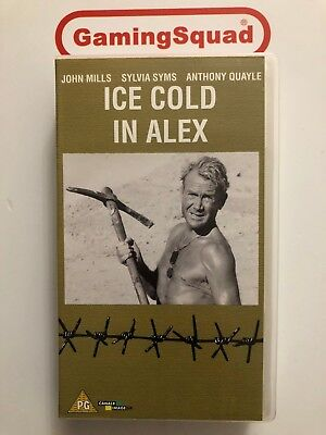 Ice Cold in Alex VHS Video Retro, Supplied by Gaming Squad