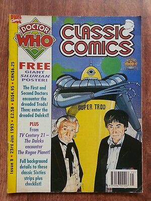 Doctor Who Magazine Classic Comics Issue 8 Dwm Tv Century 21 The Daleks