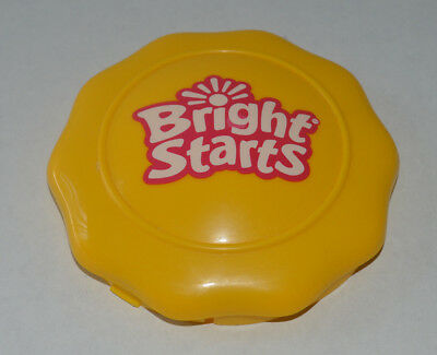 Bright Starts 3 in 1 Around We Go Yellow Center Logo Cap Replacement Part