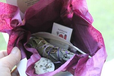 Smudge kit-home cleansing