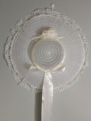 Vintage Ladies White Hat By Gibbons Of London boxed