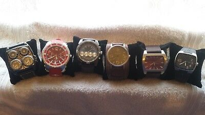 Lot of MENS Watches; OULM, KAHUNA, RIVER ISLAND  Watch Joblot. No Reserve