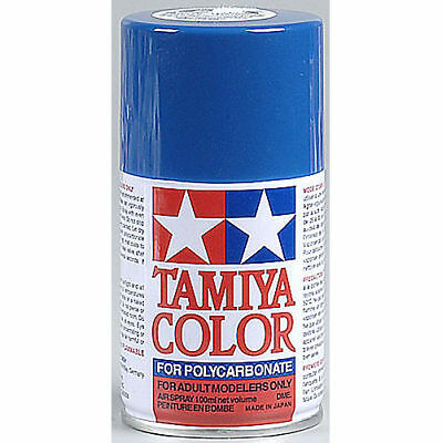 Tamiya America Inc Polycarbonate PS-4 Blue Spray 100 ml TAM86004