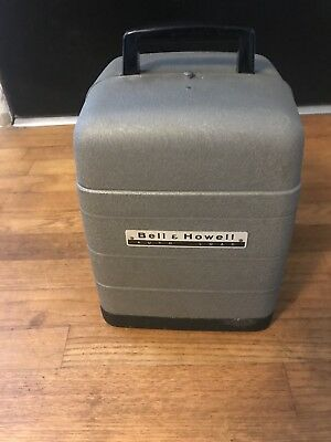 Bell And Howell 8mm Film Movie Projector  Model 254 RA WORKING!