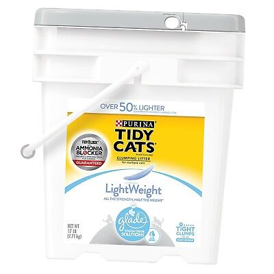 Purina Tidy Cats LightWeight Glade Tough Odor Solutions Clear Springs Clumpin