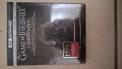 Game of Thrones The Complete First Season on 4K Ultra HD + Digital HD