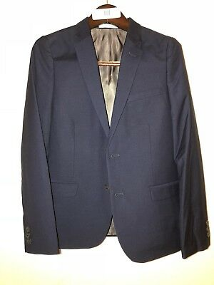 New Boys Blazer Suit Jacket Childrens Youth Dark navy blue Size 18 HIGH Quality