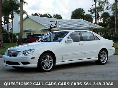 Mercedes-Benz S500 S500-ONLY 46000 MILES-NICEST S500 ON THIS PLANET FLORIDA FINE-BOSE SOUND-NAV-SIRIUS-AMG WHEELS-NEW MICHELIN-ABSOLUTELY NONE NICER
