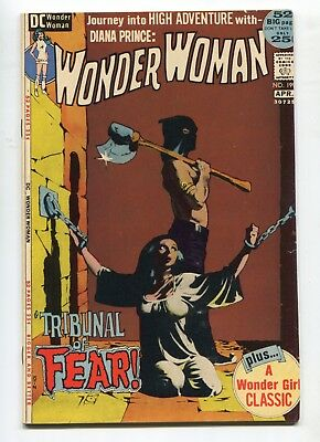 1972 Dc Wonder Woman #199 Bondage Cover  Very Fine E6