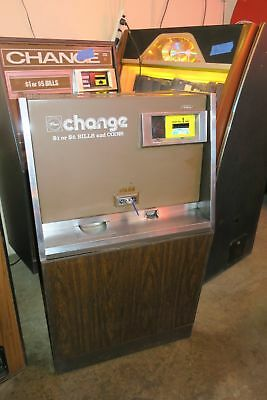 Rowe Bill Changer With Mars Bill Acceptor. Coins or Tokens. Works Great #1