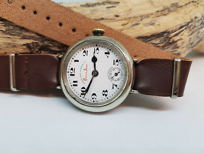 Vintage West End Watch Co., Queen Anne Sub Second Manual Wind Watch