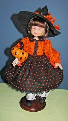 """Halloween Party Dress made for 14"""" Betsy McCall Doll"""