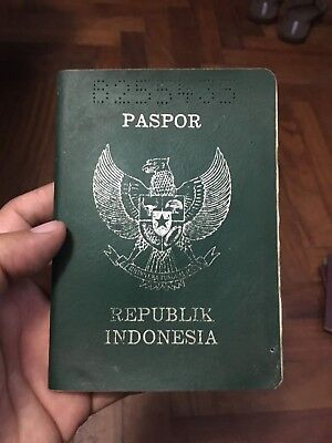 Indonesia Obsolete Collectible Passport Rev Stamp&many Seals 1980's