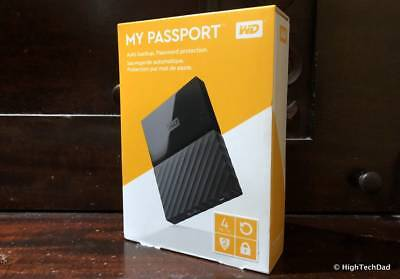 WD My Passport for Mac WDBP6A0040BBK-WESN 4 TB External HDD - Time Machine