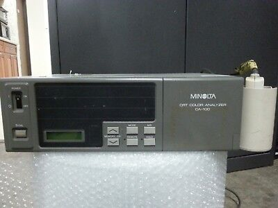 Minolta CA-100 CRT Color Analyzer CA 100 Probe AS IS NOT TESTED CONDITION