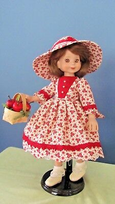"""Apple Orchard Dress made for 14"""" Betsy McCall Dolls"""