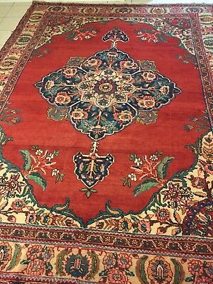 7.7 X 10.5 Hand Knotted Orienta Rug