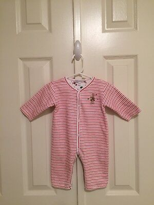 Kissy Kissy - Reversible Christmas Theme Romper - 3-6 months - Note Small Flaw