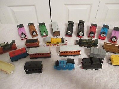 Large Lot Thomas The Tank Train Engine All Working Running Vintage
