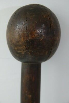 Very Old African Tribal Zulu Knobkerrie - Knobkerry - Very Rare - L@@k