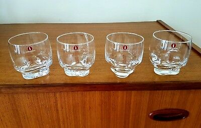 New boxed Iittala Valssi glasses Scandi Finland made