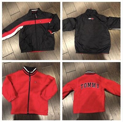 Tommy Hilfiger Reversible Jacket, Toddler Boys 4T EXCELLENT CONDITION