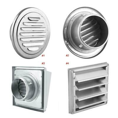 1pcs Stainless Steel Wall Ceiling Air Vent Ventilation Exhaust Duct Grille Cover