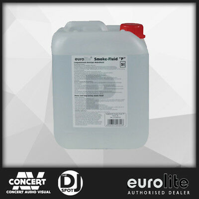 Fog Machine Fluid EUROLITE, 5 Litre Smoke Machine liquid, High Quality Fog Juice