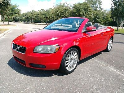 2008 Volvo C70 T5 2008 Volvo C70 AUTO RED HARDTOP CONVERTIBLE FULLY SERVICED