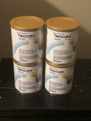 4 Cans Neocate Jr Unflavored/Make Offer/Free Ship