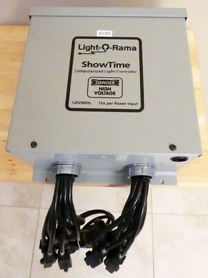 light o rama christmas lighting controller 16 channel 1602wg3 120v 30a