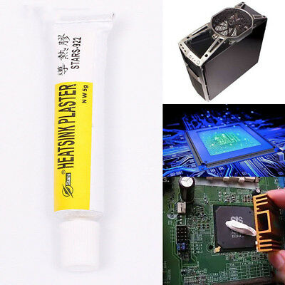 Thermal Conductive Plaster Heatsink Viscous Adhesive Glue Chip Pads Strong Acces