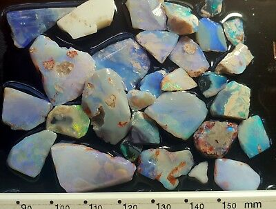 Opal Rough from Lightning Ridge 100 carats - see all pictures! Item i