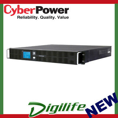 CyberPower PRO Rack/Tower LCD 2200VA / 1600W(15A) 2U Line Interactive UPS