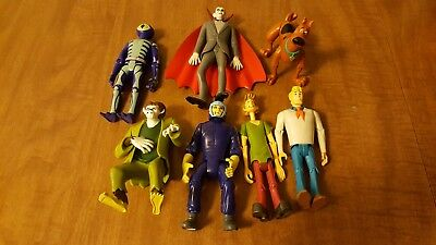 Lot Scooby Doo Action Figures 2007 2008 2011 Shaggy Scooby Fred Villians