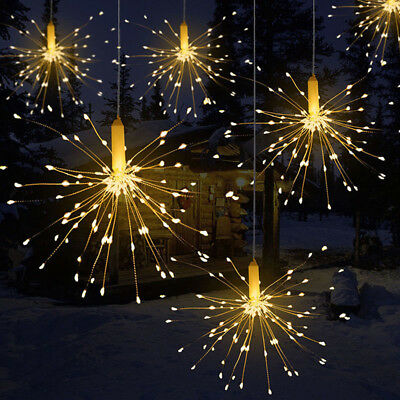 Firework LED Copper Wire Strip String Fairy Light Wedding Party Home Decor Goodi